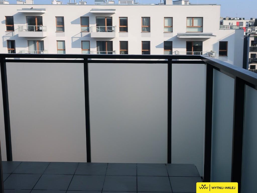 oklejanie balkonów Warszawa